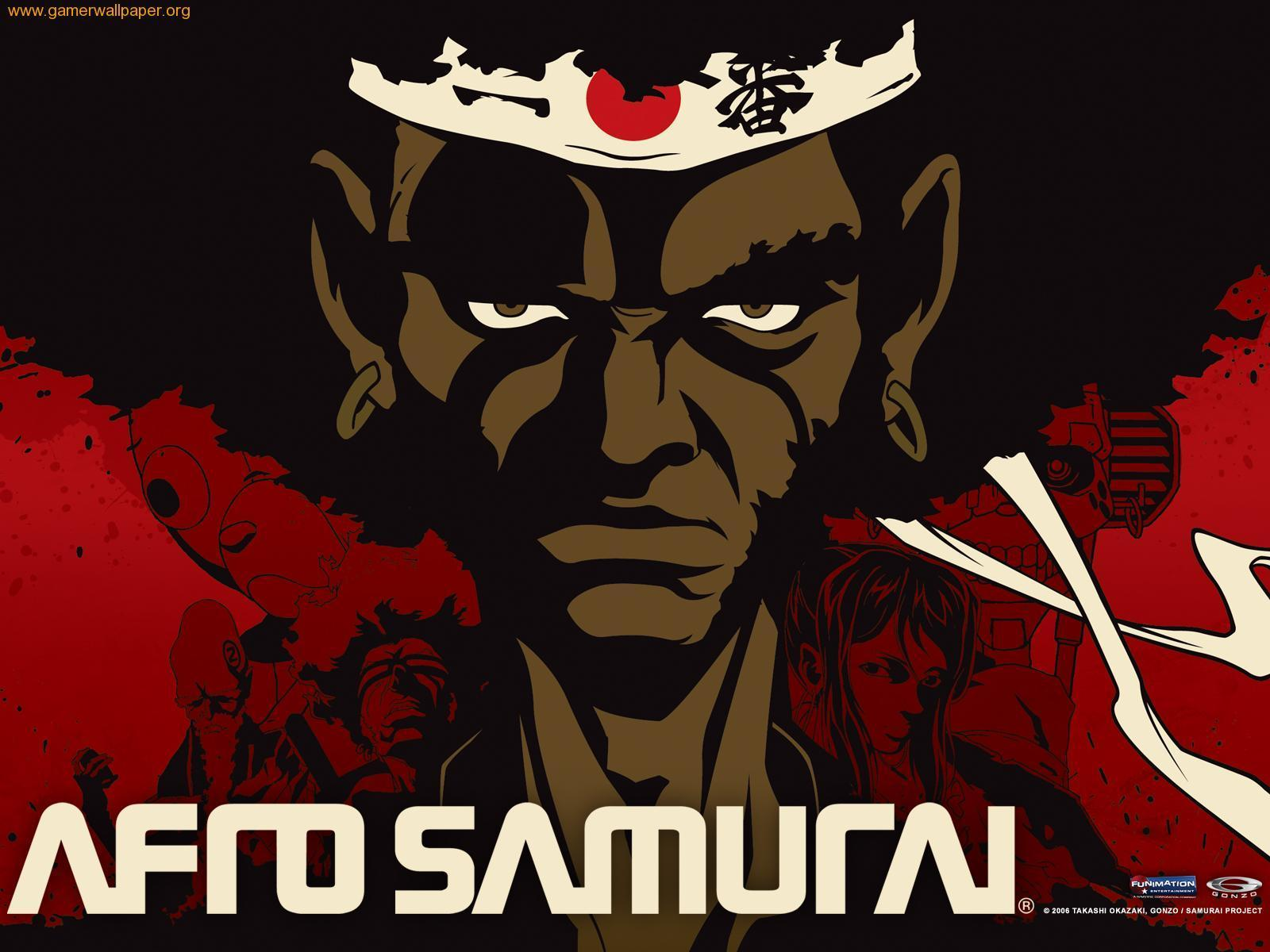 Afro Samurai. Note the physical and stylistic similarities between the two characters.