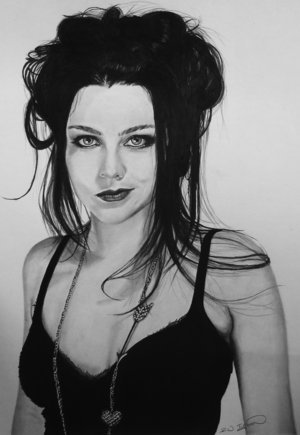 Amy Lee پیپر وال containing a portrait called Amy Lee Drawings