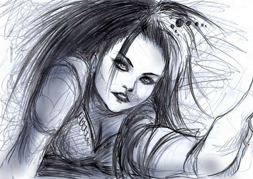 Amy Lee Drawings