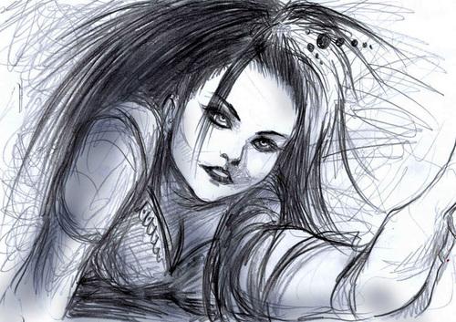 Amy Lee Drawings
