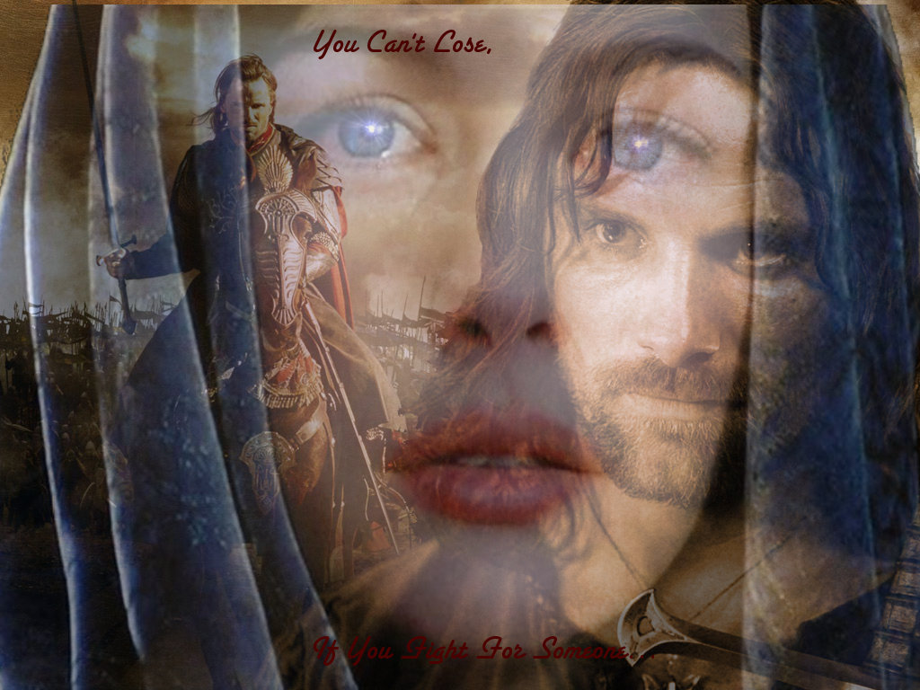 Aragorn and Arwen images Arwen and Aragorn HD wallpaper and background photos...