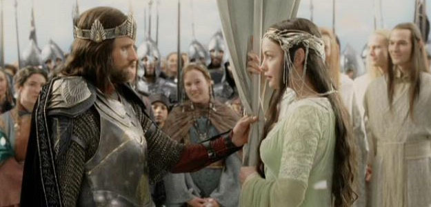 arwen wedding and Aragorn