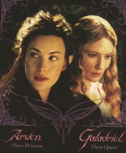 Arwen and Galadriel