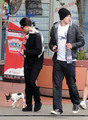 Ashley and Kellan in Vancouver  - twilight-series photo