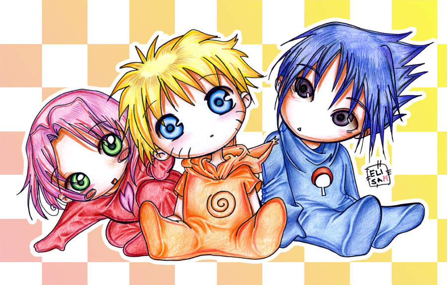Everything Babyish Images Baby Naruto And Friends HD Wallpaper Background Photos