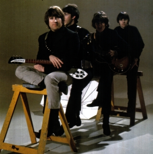 Beatles Promotional Video Shoot