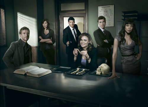 Bones wallpaper possibly with a business suit entitled Bones Season 5 Promo Photos