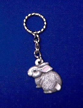 Bunny Keychain,For IsisRain  - keychains Photo