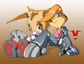 Bunny Rabbot and Cream
