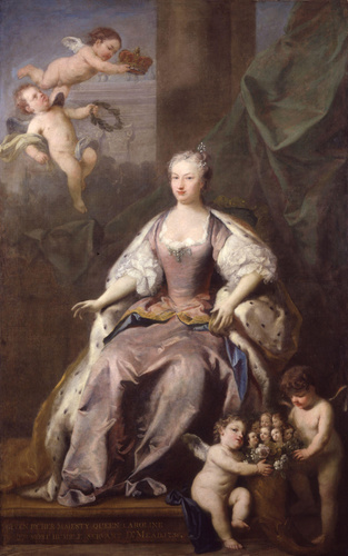 Caroline of Ansbach, queen of George II of Great Britain and Ireland