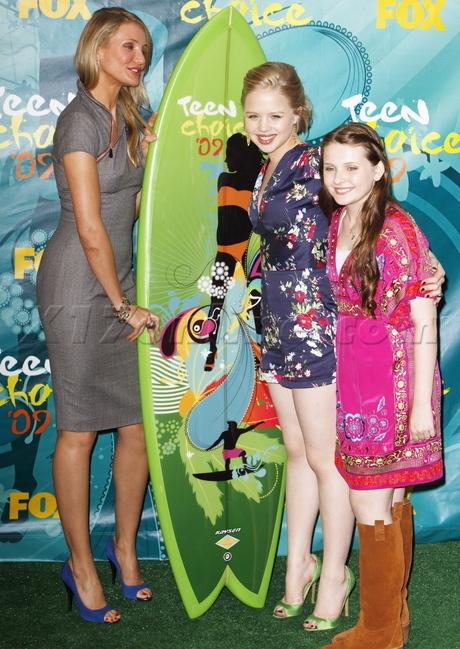 Cast at Teen Choice Awards