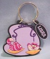 Cheshire Cat on Disney's Libra Keychain - keychains photo