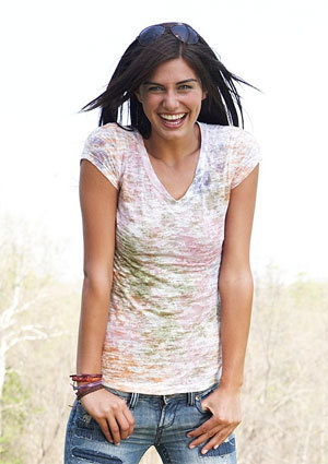 Chrissy Ombre Tee