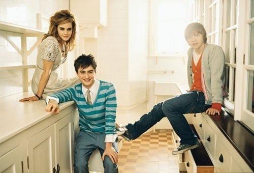 Dan, Rupert, and Emma