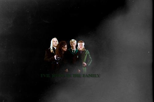 Malfoy Family and Bellatrix