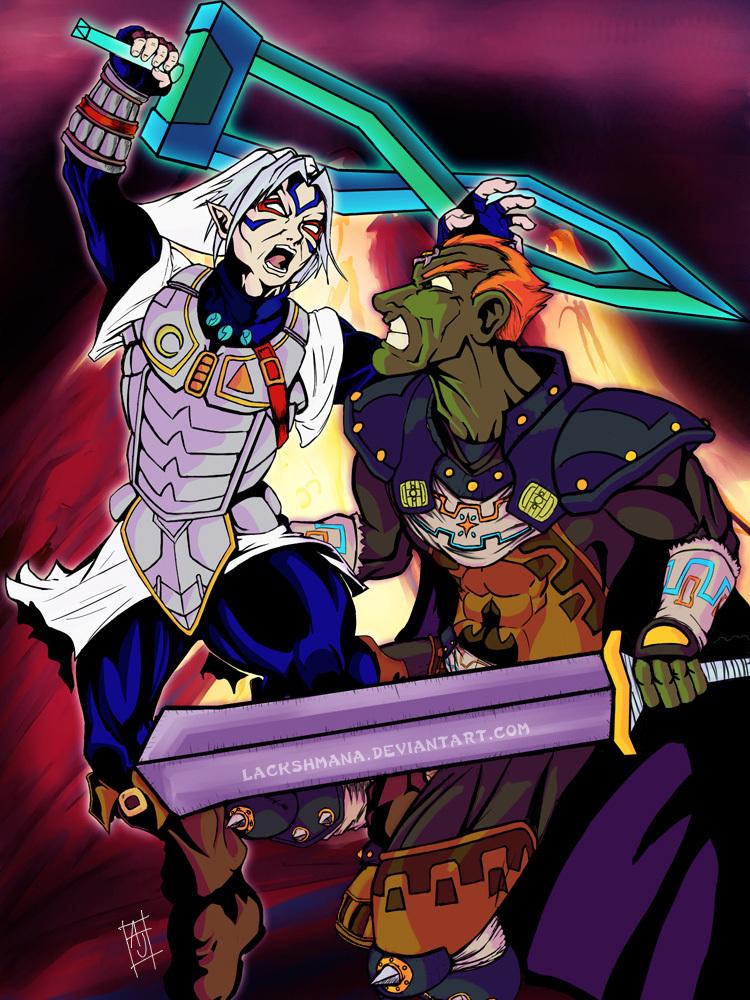 Deity Versus Ganon The Legend Of Zelda Photo 7677202