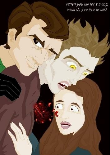 Dexter morgan meets Bella and Edward
