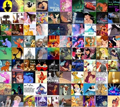 디즈니 and Non 디즈니