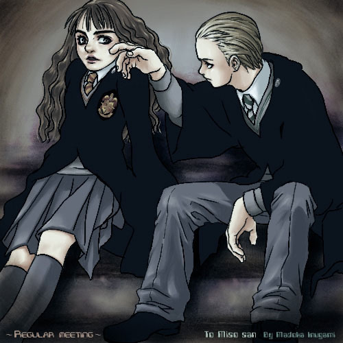 Dramione wallpaper possibly with a business suit and a well dressed person titled Dramione  fanart <333