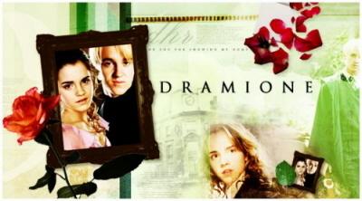Dramione fanart <333