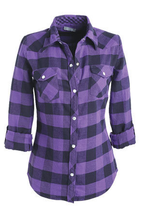Elisa Flannel Shirt