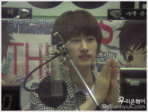 EunHyuk On Kiss Radio