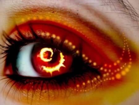 ngọn lửa, chữa cháy eyes