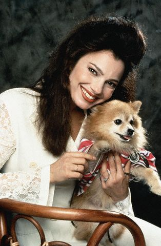 The Nanny wallpaper probably with a pomeranian entitled Fran