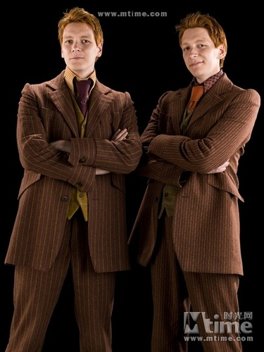 Fred/George in HBP