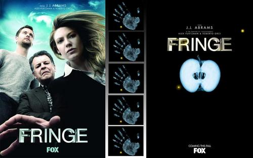 Fringe wallpaper with anime titled Fringe Integrated Wallpaper