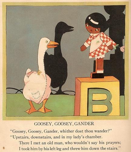 Goosey Goosey lalaking gansa