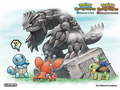 Groudon statue - pokemon-mystery-dungeon photo