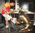 HIStory World Tour > Backstage - michael-jackson photo