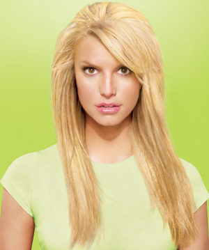 Jessica Simpson wallpaper containing a portrait entitled HairDo promos