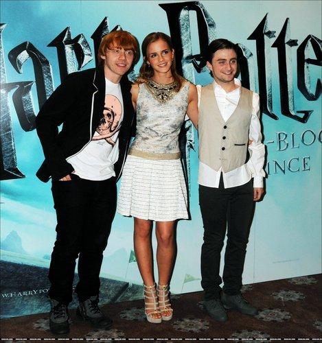 Harry Potter foto Call 2009