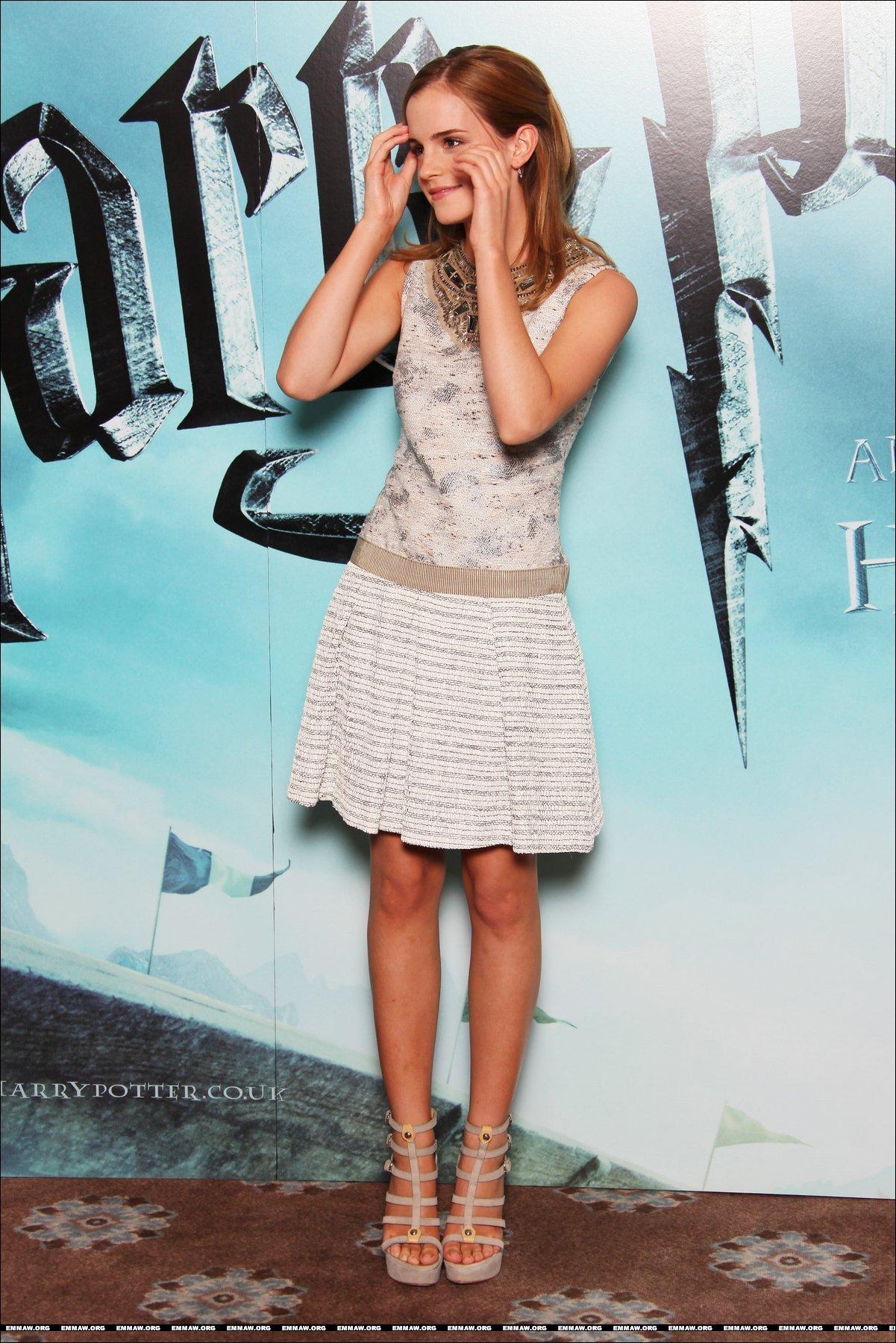 Emma watson harry potter 6 dress