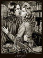 Hermione and Snape - hermione-and-severus fan art