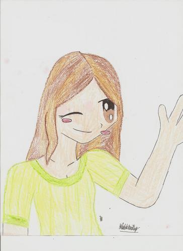 I drew myself!