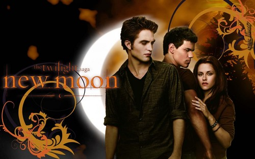 JACOB, BELLA AND EDWARD वॉलपेपर
