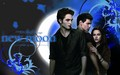 JACOB, BELLA AND EDWARD WALLPAPER - twilight-crepusculo wallpaper