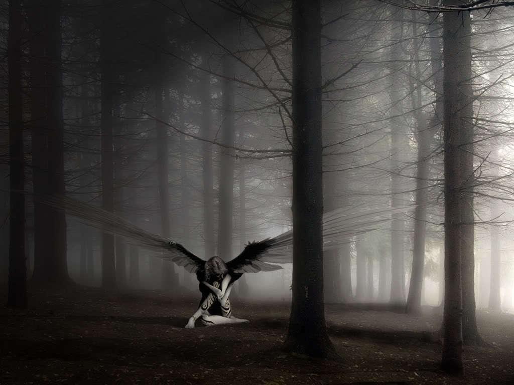Sad Dark Angel