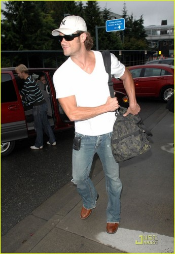 Jared Arrives in Vancouver