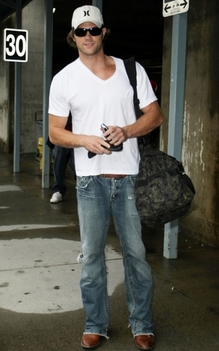 Jared @ Vancouver Airport