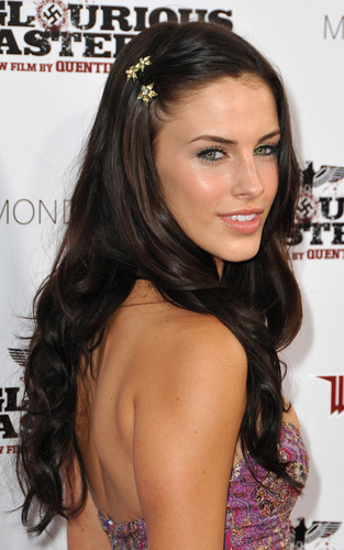 """Jessica Lowndes out for the LA premiere of """"Inglourious Basterds"""""""