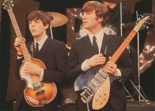 John and Paul Ed Sullivan