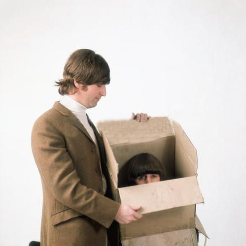 John and Ringo (in a box)