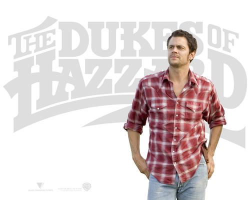 Johnny Knoxville 바탕화면 probably with a workwear, a sign, and long trousers titled Johnny Knoxville - The Dukes of Hazzard