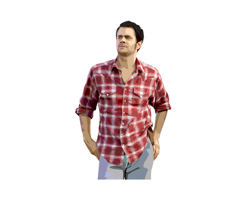 Johnny Knoxville 바탕화면 probably containing an outerwear titled Johnny Knoxville