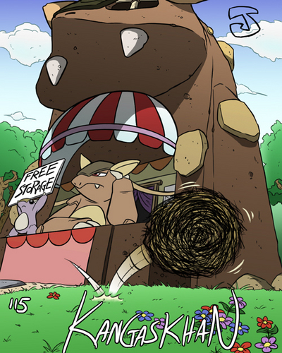 Kangaskhan Storage - pokemon-mystery-dungeon Photo