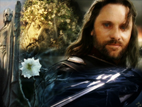 Aragorn fondo de pantalla probably containing a bouquet called King Aragorn